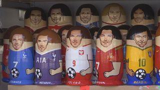 Trending in Russland: Stars der Fußball-WM als Matroschkas