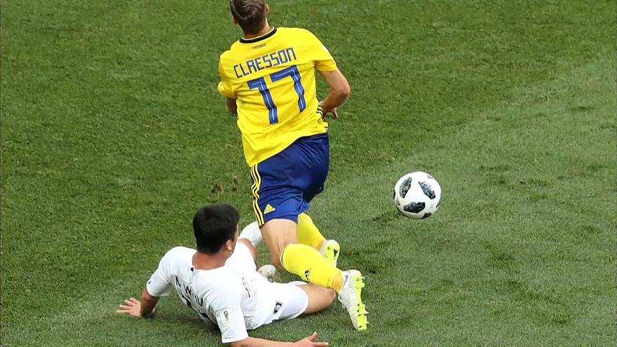 1:0 - Schweden gewinnt gegen Südkorea