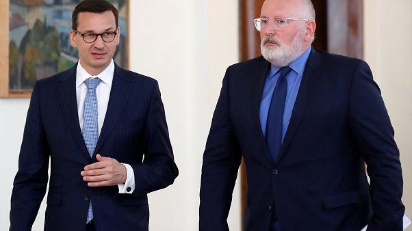 Polónia: Impasse no confronto com Bruxelas