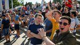 اعتقال بريطاني واتهام مشجعين للمنتخب الإنجليزي في روسيا بالتخريب