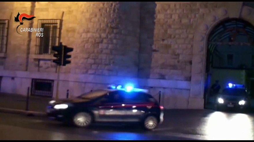 Массовые аресты в Италии