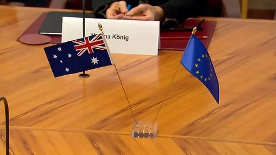 Libre-échange : ouverture des négociations entre l'UE et l'Australie