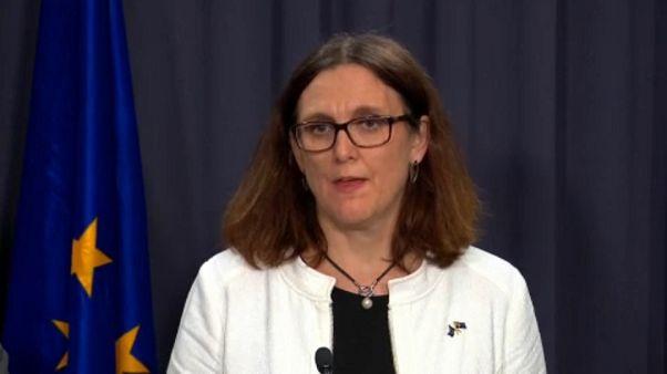 Cecilia Malmström, comisaria europea de Comercio