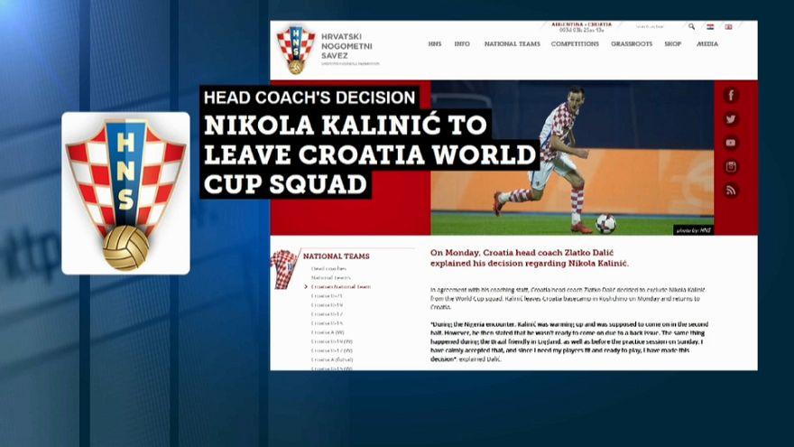 Russia 2018: Kalinic cacciato dalla Croazia!
