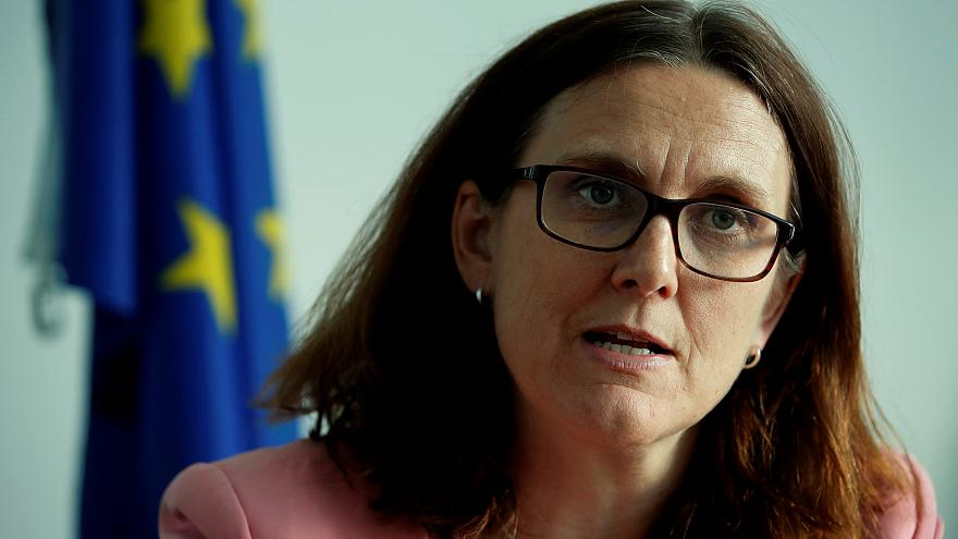 EU commmissioner Cecilia Malmström is in Australia for trade talks