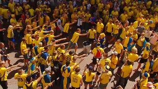 La afición sueca supera a la surcoreana