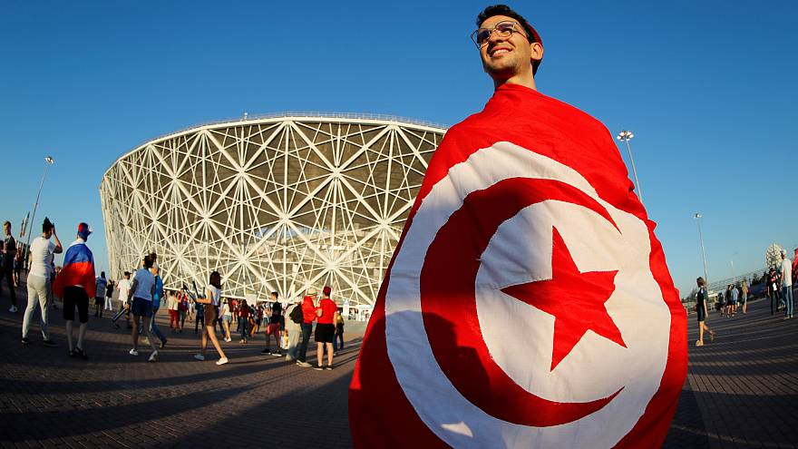 Una afición tunecina llena de ilusión