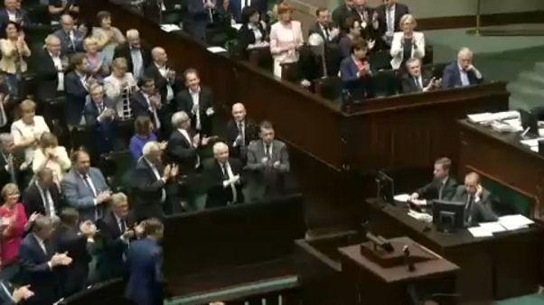 Polonia aprobó en julio del año pasado la controvertida reforma judicial