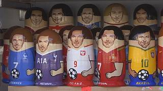 Des poupées russes à l'effigie des stars du Mondial