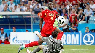 Romelu Lukaku assina o 3-0 e é eleito o melhor jogador da partida