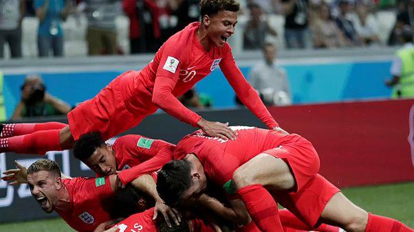 Дубль Кейна принес победу Англии