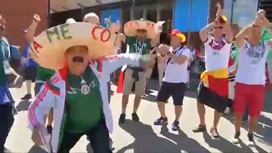 VB 2018: szurkolói miatt büntethetik Mexikót