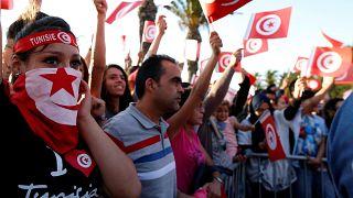 جانب من مشجعي المنتخب تونسي