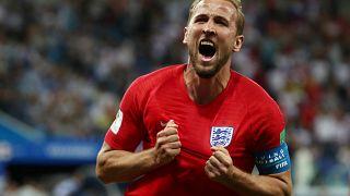 'Bis' de Harry Kane salva Inglaterra diante da Tunísia