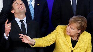 Συνάντηση Μέρκελ-Μακρόν με φόντο τις μεταρρυθμίσεις στην ΕΕ