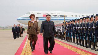 كيم في الصين لإطلاع شي جين بينغ على مضمون الاتفاق النووي مع ترامب