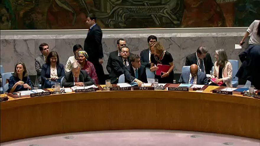 Hodeida ostroma az ENSZ BT előtt