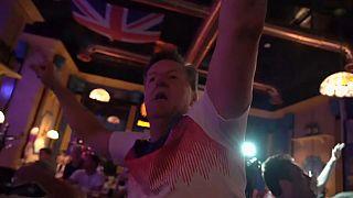 Battuta la Tunisia, tifosi inglesi in festa a Volgograd