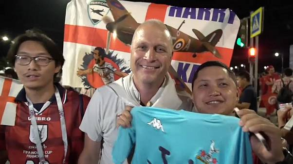 WM: England feiert seinen ersten Sieg