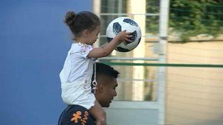 Бразилия: на поле с детства
