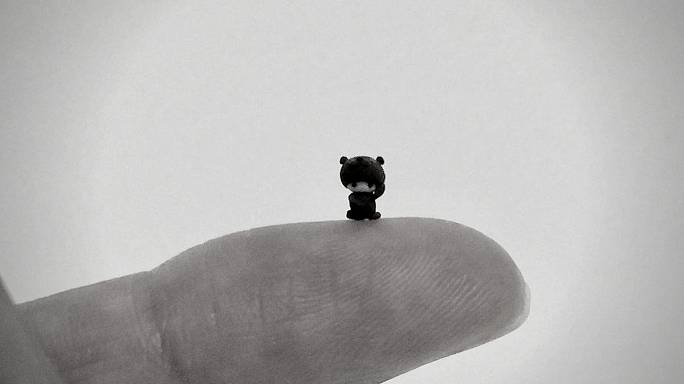 Steady hands  required: Japanese artist creates the tiniest sculptures