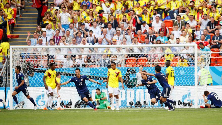 Kolombiya - Japonya Dünya Kupası karşılaşması