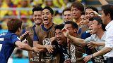 Fußball-Weltmeisterschaft: Japan schlägt Kolumbien mit 2:1