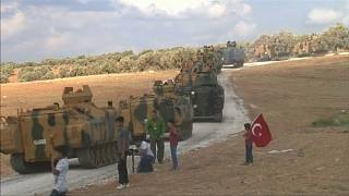 Siria: l'esercito turco entra a Manbij