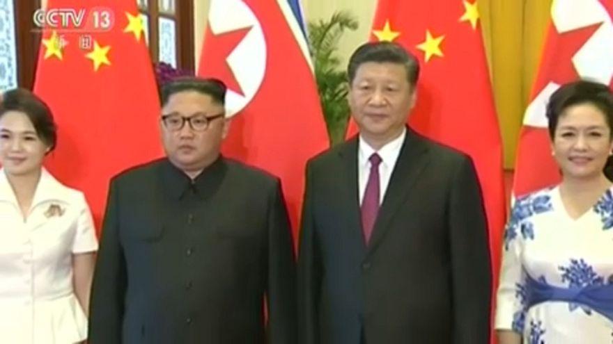 Kim Jung-Un e Xi Jinping