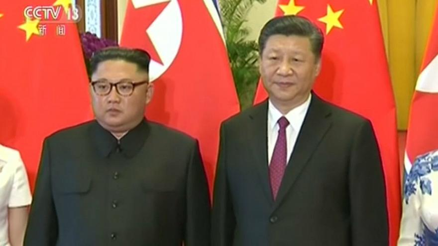 Kim Jong-un viaja a China para informar a Xi Jinping de su reunión con Trump