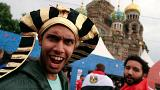 Russie-Egypte : les fans dans les starting blocks