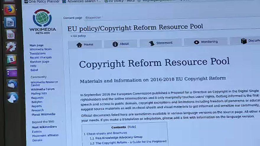 Confronto sobre diretiva europeia para os direitos de autor