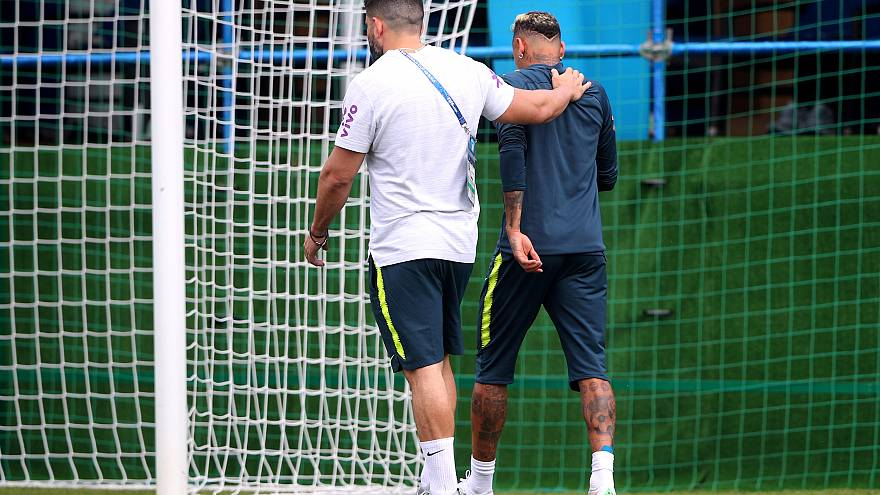 Russia 2018: allarme-Neymar per il Brasile