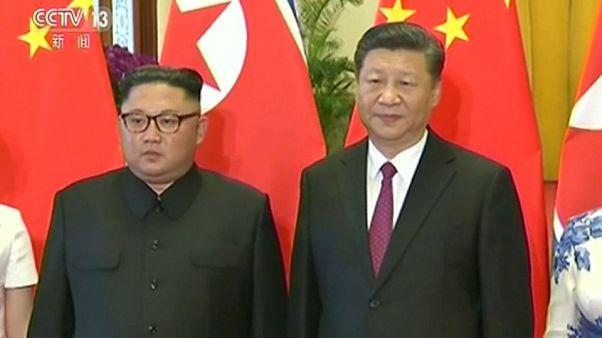Kim Jong-un di nuovo in Cina