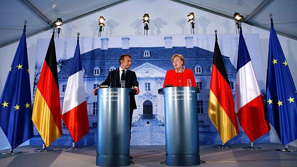 توافق امانوئل ماکرون و آنگلا مرکل با بودجه مشترک اتحادیه اروپا