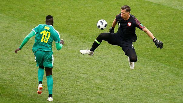 Senegal enfrentou a Polónia em Moscovo