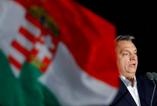 Hungary's Orban to tax aid groups which support migration