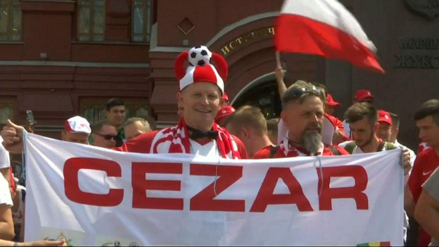 طرفداران تیم ملی فوتبال لهستان