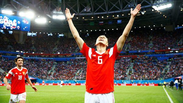 Rusia gana 3-1 a Egipto y está a las puertas de la siguiente fase del Mundial