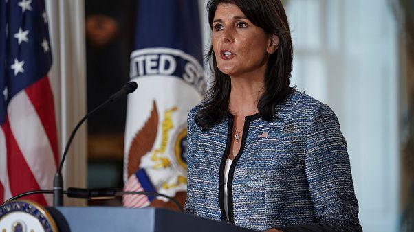 ABD BM İnsan Hakları Konseyi'nden çekildi