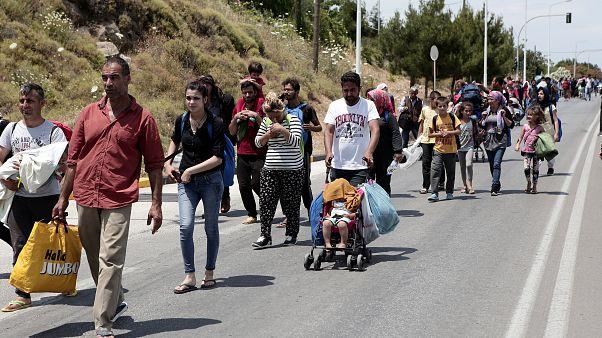 تعرف على أزمة اللاجئين حول العالم في 7 رسومات بيانية