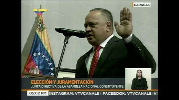 Diosdado Cabello toma las riendas de la Constituyente en Venezuela