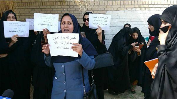 زنان ایرانشهر خواستار برخورد با متجاوزان شدند