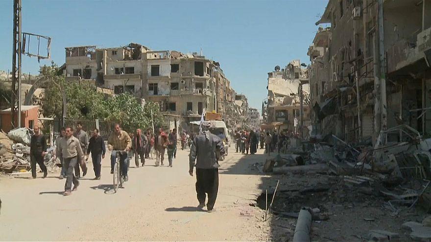تحقيق أممي يدين القوات الحكومية والمعارضة بارتكاب جرائم حرب خلال حصار الغوطة بسوريا