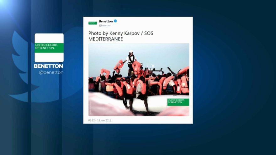 Nouvelle polémique sur une pub Benetton