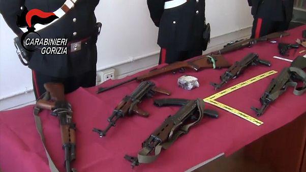 Europol: Schlag gegen Waffenschmuggel
