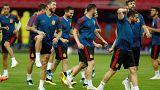 Тренировка сборной Испании в Казани