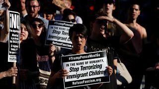 تظاهرات در سانفرانسیسکو علیه سیاست جدا کردن کودکان از والدین مهاجر