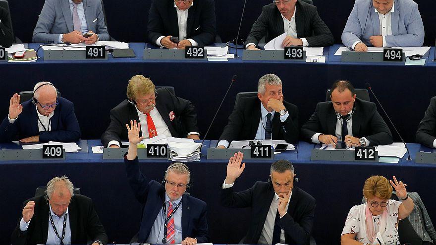 Vote des députés européens