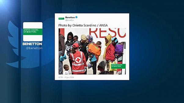 Menekültekkel kampányol a Benetton